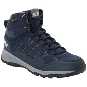 Jack Wolfskin Maze Texapore Chaussures Homme, dark blue/light grey